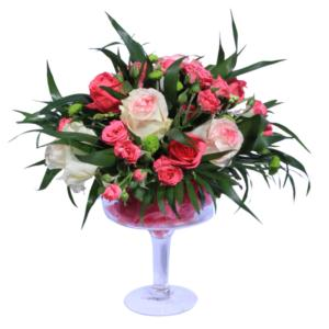 Deep Pink Roses Bouquet!