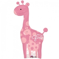 Safari Boy or Girl Giraffe Balloon !