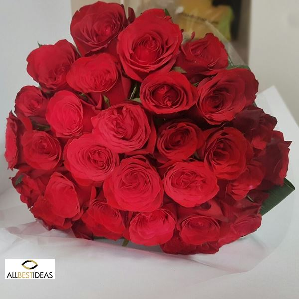 Romantic Red Bouquet!