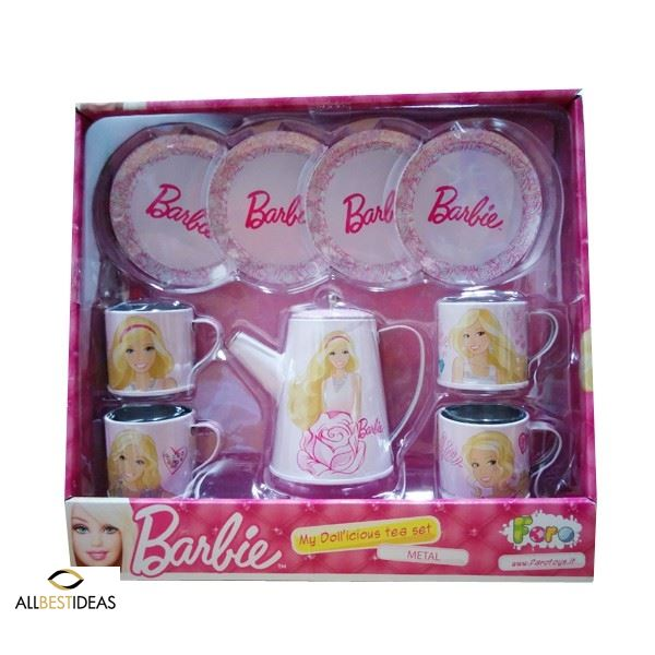 Barbie delicious tea set!