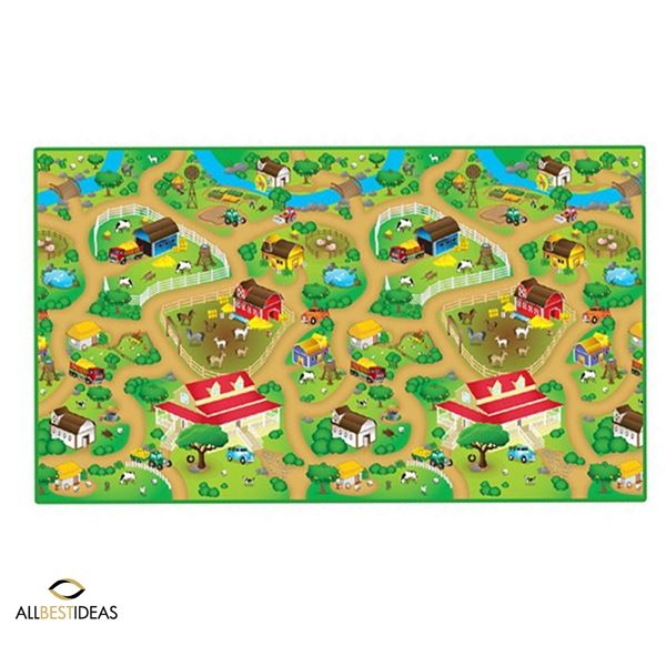 120*200cm Play Mat Farm Design