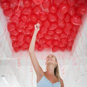 Ceiling Balloons!