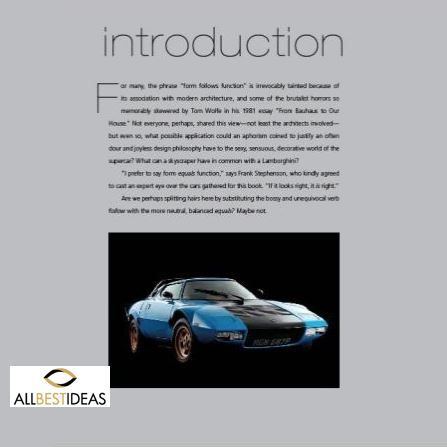 Form Follows Function The Art Of The Supercar - Stuart Codling