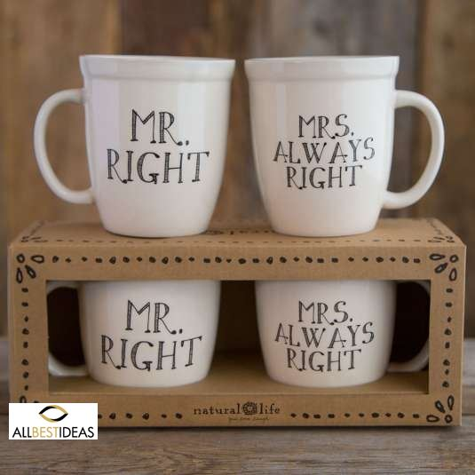 Mr Right and Mrs Always Right!