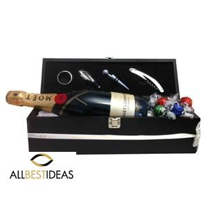 Christmas Moet Wine Box!