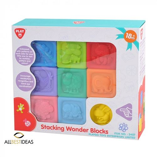 Sort and Learn Stacking Blocks