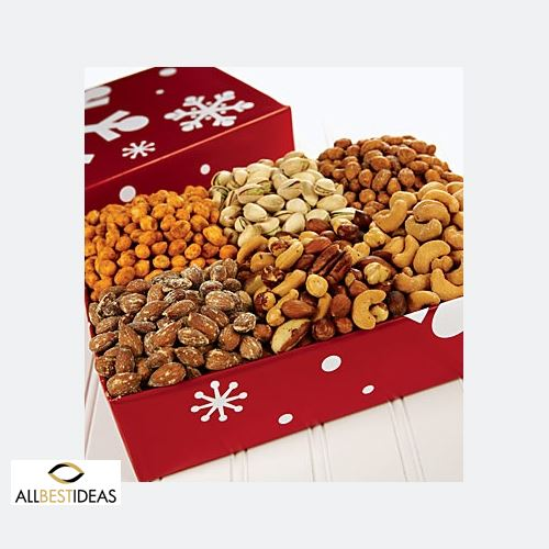 Christmas Nuts Tray