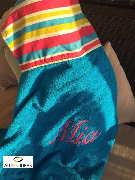Personalized beach Towel!