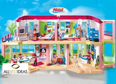 Playmobil, Fun Large Furnished Hotel!