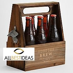 Wooden Beer Holder!