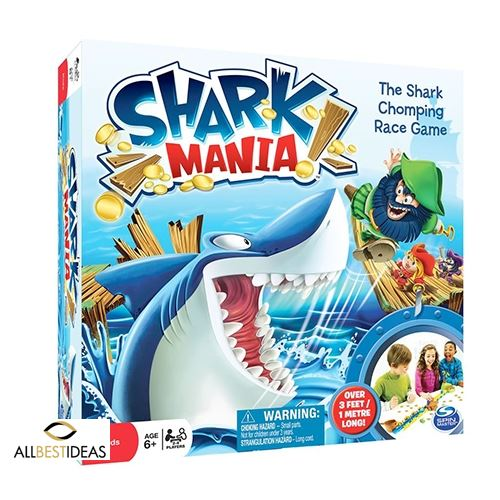 Shark Mania Board Game
