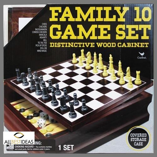 Family 10 Game Set