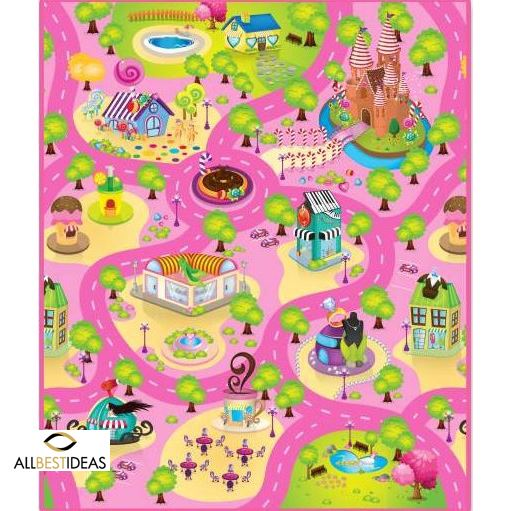 120*200cm Play Mat Candy Land