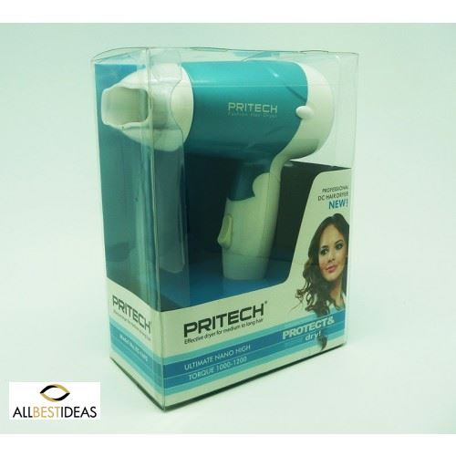 PRITECH DC Professional Mini Hair Dryer.