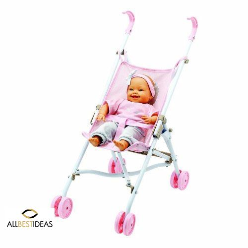 Electronic Doll With PushChair
