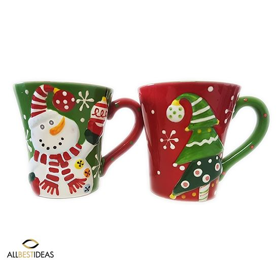 The Perfect Couple Christmas Mugs