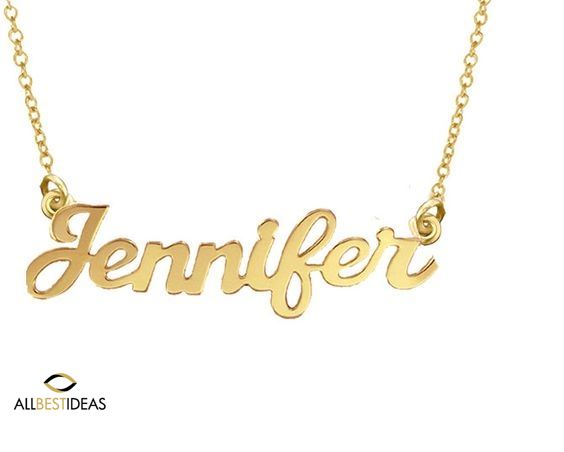 Gold Name Necklace!