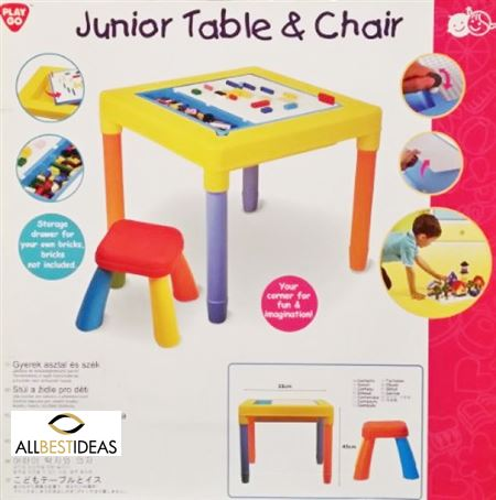 Junior Table and Chairs