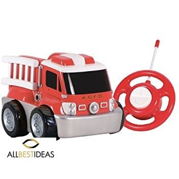 Soft Body Fire Truck