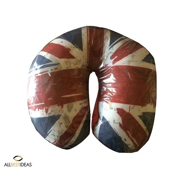 UK flag Neck Pillow