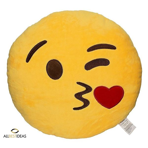 Big Smiley Pillow