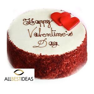 Valentines Wishes Red Velvet Cake!