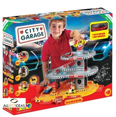 City Garage 3 levels!