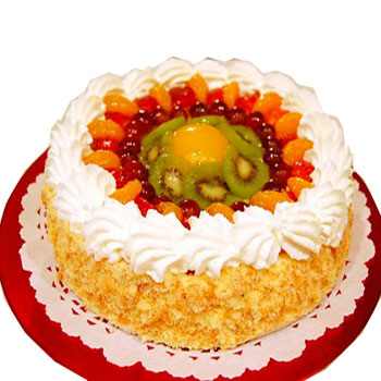 Fresh Fruit Cake!