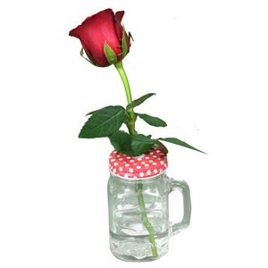 Single Red Rose In a Jar!