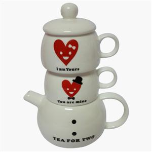Love Ceramic Tea Set!